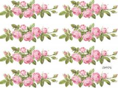 XL-ChaRmiNg-PinK-RoSe-SwaGs-ShaBby-DeCALs-FuRniTuRe-SZ