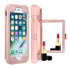 WeFor Mirror credit card slot full body drop protection for iPhone 8 & iPhone 8 Plus #iphone7plus #iphonecover #iphone8plus #galaxys8plus #iphone6s #galaxys7case #iphonegraphy #iphonecase #iphoneesia #selfiesticks