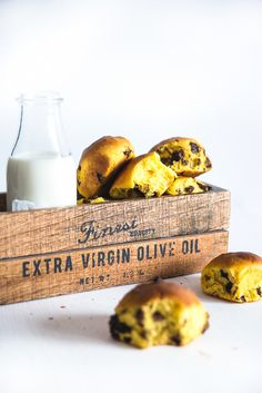 this one sounds good too (for the Raisin Tree fruit) -  I love pumpkin too - how about you? Pumpkin brioches with chocolate and raisins