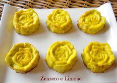 rose di frittata, ricetta sfiziosa   Zenzero e Limone