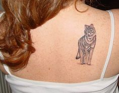 wolf tattoo | Flickr - Photo Sharing!