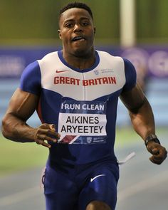 Harry Aikines-Aryeetey, Man's 60 Meters, Copyright B&O Press Photo