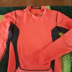 NIKE PRO COMBAT DRI-FIT Boys xl orange Dri-fit NWOT Nike Tops