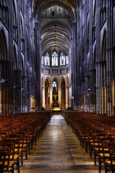 Cathedral Notre-Dame in Rouen, Normandy, France.
