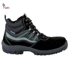 Cofra 63440-000.W41 Augsburg S1 P SRC Chaussure de sécurité Taille 41 Noir - Chaussures cofra (*Partner-Link)
