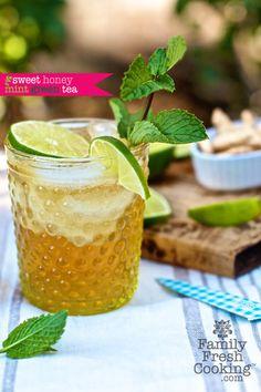 Sweet Honey Mint Green Tea
