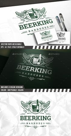 Beer Club Logo — Vector EPS #bartender #beverage • Available here → https://graphicriver.net/item/beer-club-logo/13366039?ref=pxcr