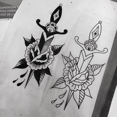 Regardez cette photo Instagram de @rachel.welsby • 102 J'aime #illustration #neotraditionel #neotraditional #neo #traditionel #traditional #draw #drawing #tattoo #ink #tattooed #inked #sketch #sketches  #man #flowers  #roses divers knife rose