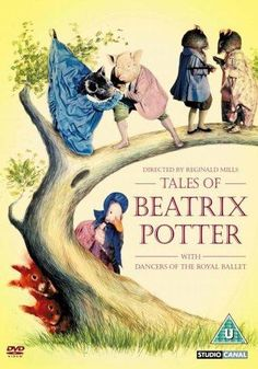 Tales of Beatrix Potter we saw it at the Bushnell in Hartford when you were four! Beatrix Potter Illustrations, Illustrations Posters, Tales Of Beatrix Potter, Rabbit Book, Beatrice Potter, Peter Rabbit And Friends, Graphic Illustration, Childrens Books, Illustrators