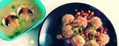 Szybki obiad dukana, czyli krem pieczarkowy i kluski bardzo leniwe <3 http://styleandfood.pl/odchudzanie/krem-pieczarkowy-i-kluski-bardzo-leniwe/