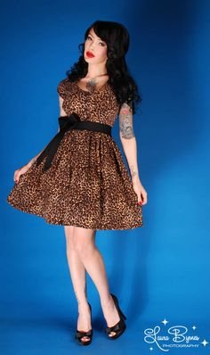 Rock N Roll Babydoll Dress