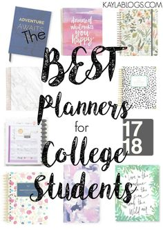 Kayla Blogs Planner Post 2017