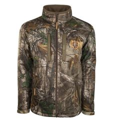 Drake Men's Silencer Full Zip Jacket - Large - Realtree Xtra - #DNT1010 - NWT