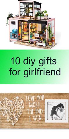 10 diy gifts for girlfriend Diy Gifts For Girlfriend, Diy Tutorial, Girlfriends, Decor, Decoration, Decorating, Boyfriends, Girls, Deco