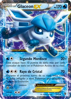 Pokemon Trading Card Game Glaceon Ex Xy Fates Collide Holo Ultra Rare Pokemon Card Near Mint Tcg Carte Pokemon Ex, Cool Pokemon Cards, Rare Pokemon Cards, Pokemon Trading Card, Trading Cards, Pokemon Rules, Pokemon Go, Pikachu, Pokemon Plush