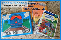 Looking for fun ideas for a train themed preschool lesson plan? Check out these preschool train activities and booklists! Train Preschool Activities, Transportation Theme Preschool, Homeschool Preschool Curriculum, Preschool Lesson Plans, Preschool At Home, Tot School, Toddler School, Summer School, Dramatic Play Themes