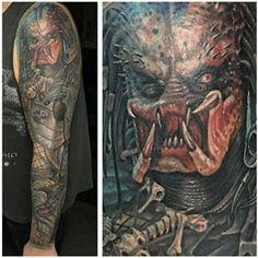 d271352cc 81 Best Predator Tattoos images in 2017 | Predator tattoo, Pop ...