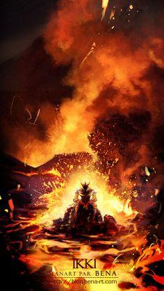 #Ikki #Phoenix resurrection by bena-rt on deviantART