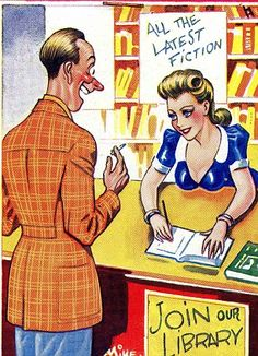Oo-er missus! The 1,300 postcards once too saucy for the seaside ...