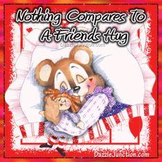 Hug Nothing Compares picture Hug Pictures, Daily Pictures, Pictures Images, Love Hug, My Love, Happy Hug Day, Hug Images, Friends Hugging, Sweet Hug