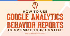 Do you want to know what content performs best on your website? Have you heard of Behavior reports in Google Analytics? Knowing how visitors move through your website and interact with your content lets you optimize your website performance and conversions. In this article I'll share how Google Analytics Behavior reports let you assess the…
