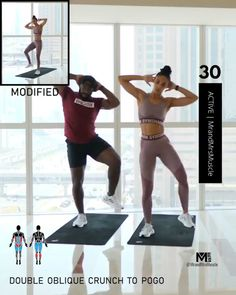 Fitness Workouts, Hiit Workout Videos, Gym Workout For Beginners, Sport Fitness, Body Workouts, Muscle Workouts, Full Body Hiit Workout, Hiit Workout At Home, Gym Workout Tips