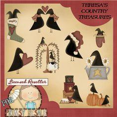 Free Primitive Graphics | Home :: Trina Clark Designs :: Primitive ...