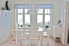 another view of the lovely family dining area off the kitchen - jordbarpiken - Norway