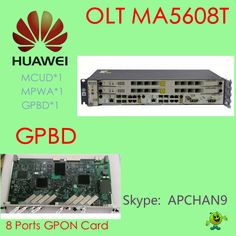 ‪#‎HUAWEI‬ GPON OLT in promotions#  MA5680T, Chase*1, SCUN*2, GICF*2, PRTE*2 With GPBD*1 (8 ports GPON card)  ‪#‎Price‬: US$1930USD Welcome to contact us and enjoy our promotions.  @Skype: APCHAN9