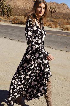 11aa4191e5 Elan International Maxi Wrap Dress Cute Maxi Dress