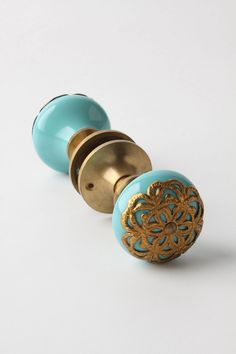 Flora Forever Doorknob - so beautiful