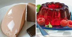 Hogyan készítsünk finom zselét? 5 zselés édesség receptje - Bidista.com - A TippLista! Chocolate Souffle, 5 Recipe, Top 5, Watermelon, Raspberry, Easy Meals, Pudding, Dishes
