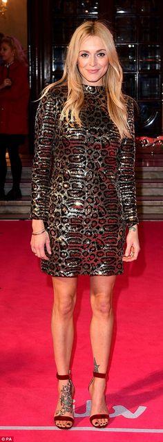 Leggy lady! Fearne looked great