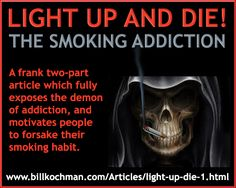 Addiction: Smoking Graphic 01 - https://www.billkochman.com/Blog/2017/02/21/addiction-smoking-graphic-01/