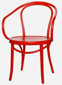 Thonet No.B9 Le Corbusier chair in red