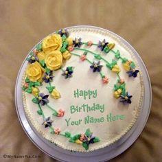 Happy Birthday Cake Images With Name Editor Shaida