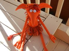 Fiery Goblin rag dolls Inspired by Jim Henson's Labyrinth I need this!!!!!!!!!!!!!!!!!