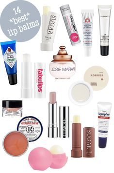 The 14 Best Lip Balms for 2014 -- but the left out the Rolls Royce of lip balms -- Creme de la Mer at $50/pot.