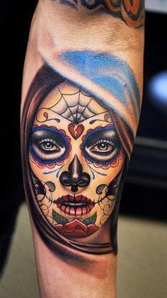 #tattoo #tattoos #ink #catrina