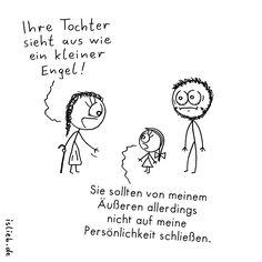 Tochter | #engel #teufel #vater #kinder #islieb
