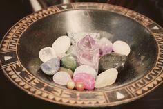 Magickal Ritual Sacred Tools:  Crystals.
