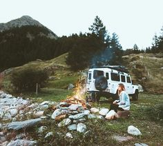 Land Rover Defender 110 lifestyle. You'd be hard pressed to want much more of an evening.