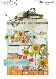 Scraps of Life- for Graphic 45, August Time to Floruish