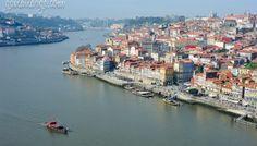 Top Views of Porto from Mosteiro da Serra do Pilar