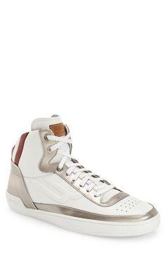 BALLY 'Ethyx' High Top Sneaker (Men). #bally #shoes #