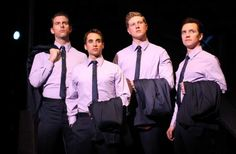 Love this cast! I may be obsessed with Jersey Boys... (if you follow the link, I don't agree about the swearing. It didn't bother me at all.)