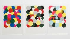 借日本D-bros设计工作室和八位插画师合作的... 来自VOICERme - 微博