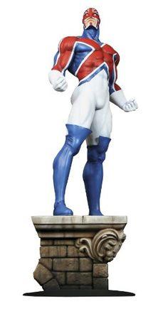 Bowen Designs Captain Britain Statue