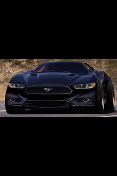 2015 Mustang Mach 5 conception.