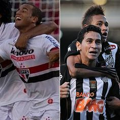 Sao Paulo & Santos - Brazilian soccer time.